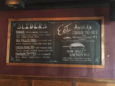 """The """"Specials"""" menu"""