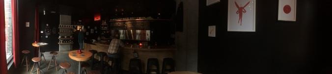 Inside the Big Legrowlski