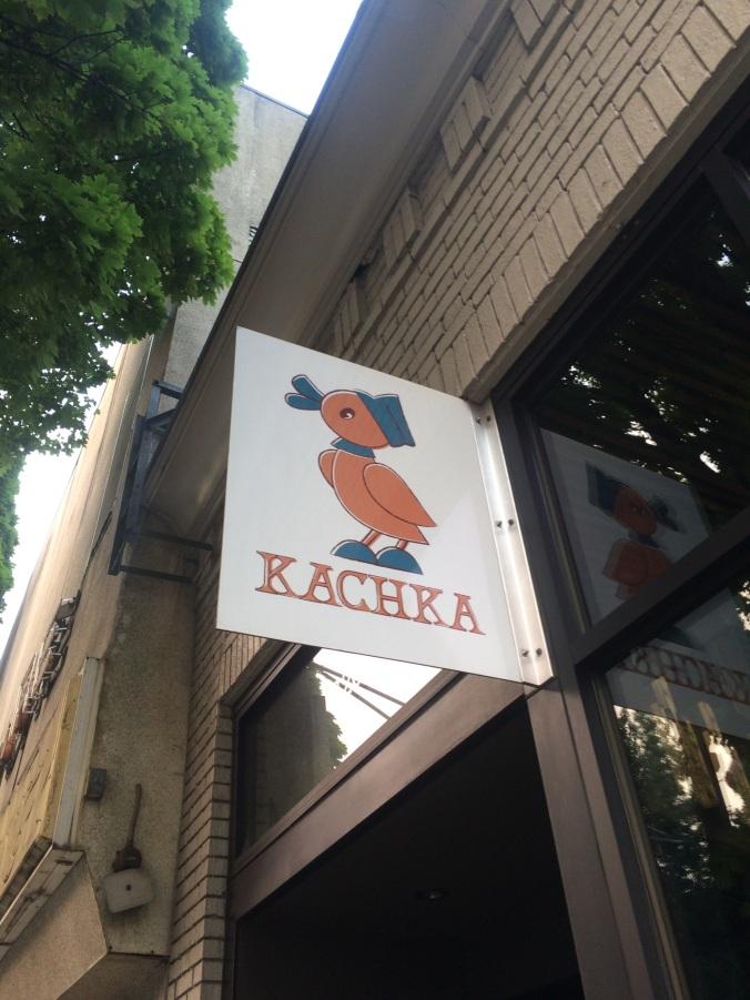 Kachka's Sign