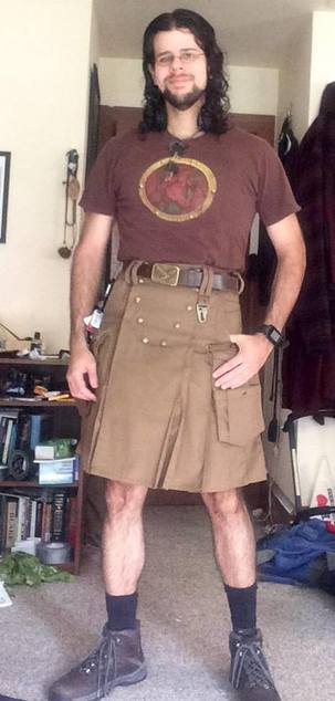 Picture of the BHB in his Utilikilt