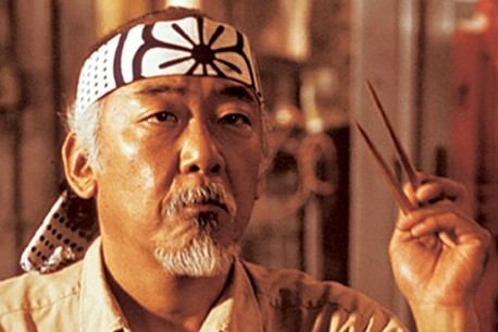 Mr. Miyagi from The Karate Kid