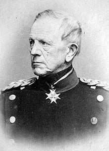 Portrait of Helmuth von Moltke the Elder