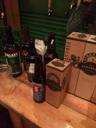 A selection of rare, imperial beers