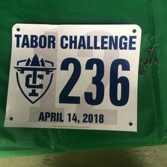 Racind tag from the 2018 Tabor Challenge