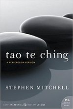 The cover of Tao Te Ching, translated by Stephen Mitchell