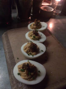 Deviled Eggs at Pepe le Moko