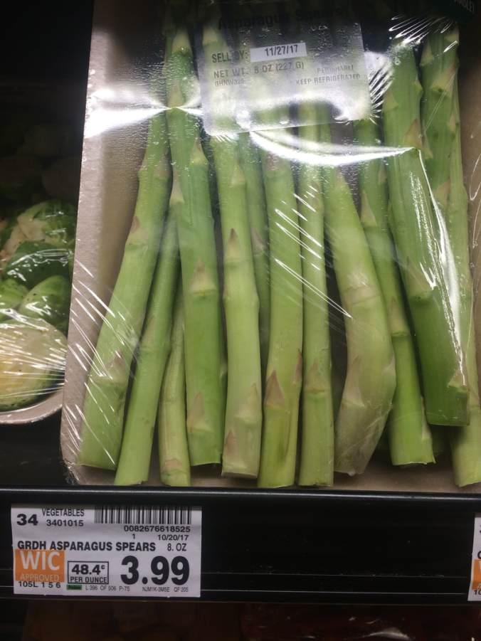 Packaged Asparagus