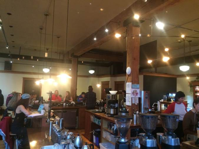 Interior shot of Case Study Coffee