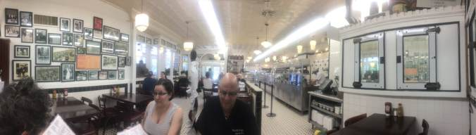 Interior shot of Famous 4th St. Deli