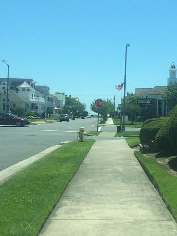 Street view of Sumner Avenue in Margate City, NJ