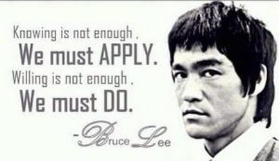Bruce Lee Quote: