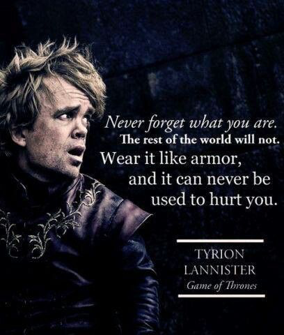 Meme of Tyrion Lannister from Game of Thrones