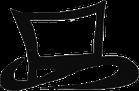 The Black Hat Baker's Signature Top Hat Logo