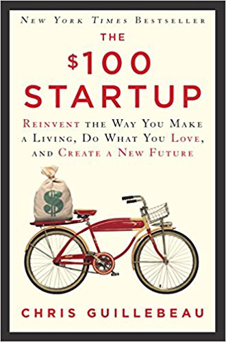 Cover of $100 Startup by Chris Guillebeau