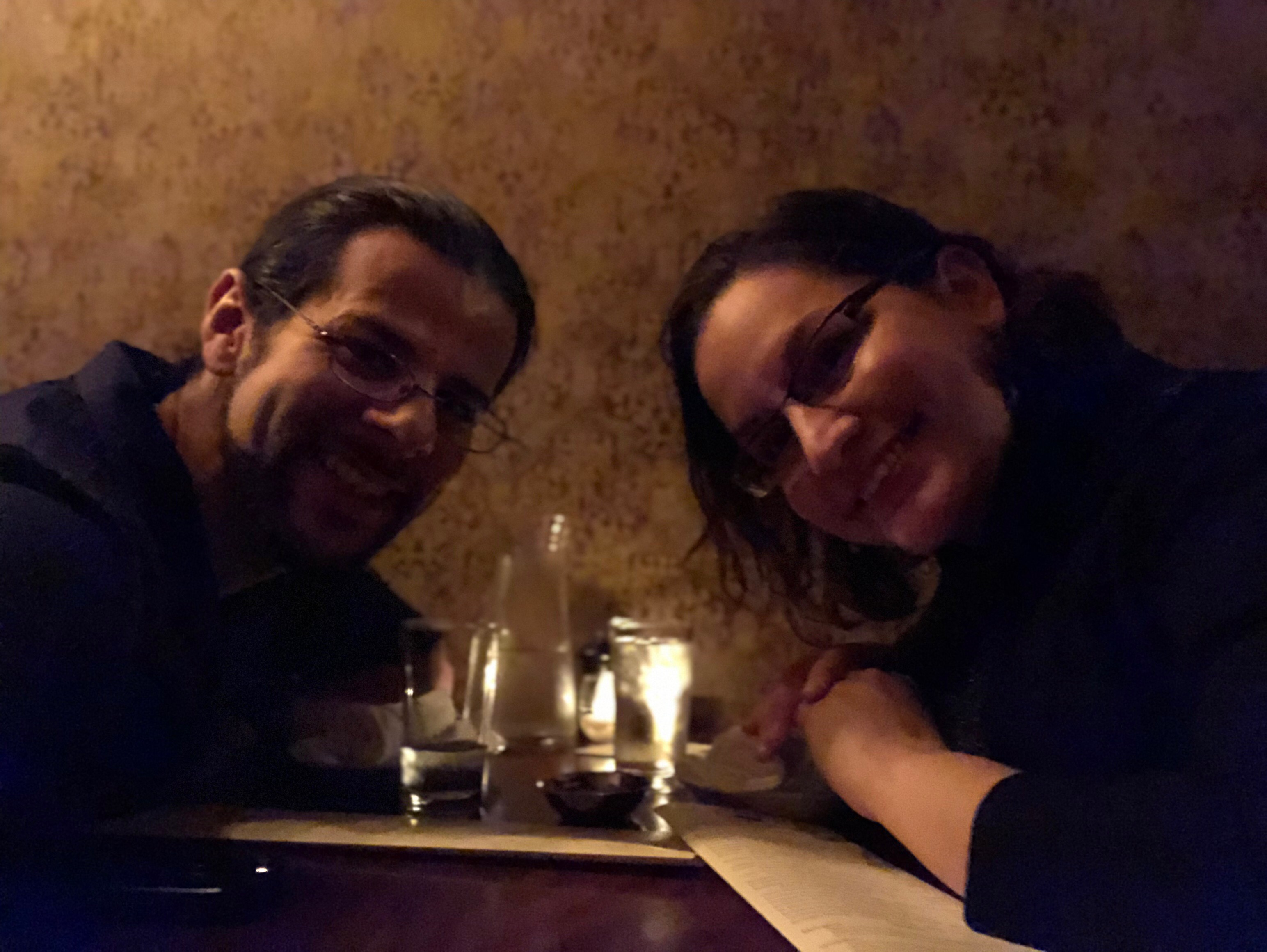 The author and his wife at Toro Bravo in Portland Oregon