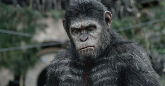 A still from Dawn of the Planet of the Apes.
