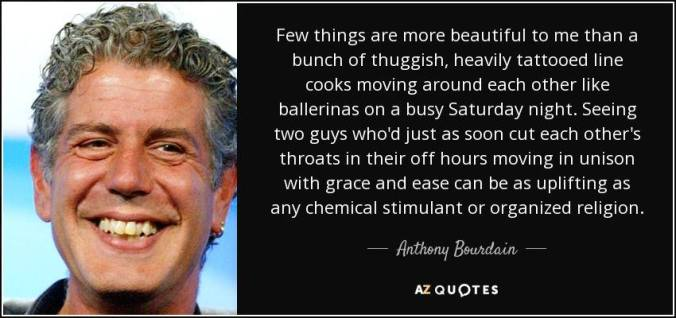 Anthony Bourdain quote