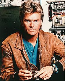 Portrait of MacGyver from Wikipedia