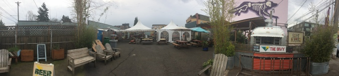 Panorama shot of the Ankeny Food Pod