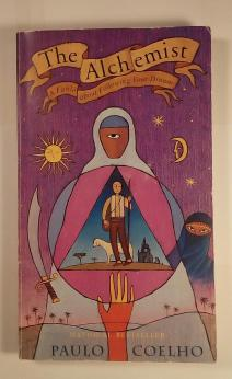 The cover of The Alchemist by Paulo Coelho, published by Harper Books